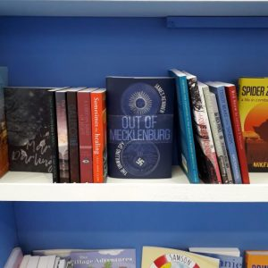 Spy novel Out of Mecklenburg at London Book Fair