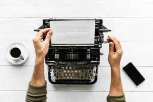 James Remmer Out of Mecklenbug typewriter